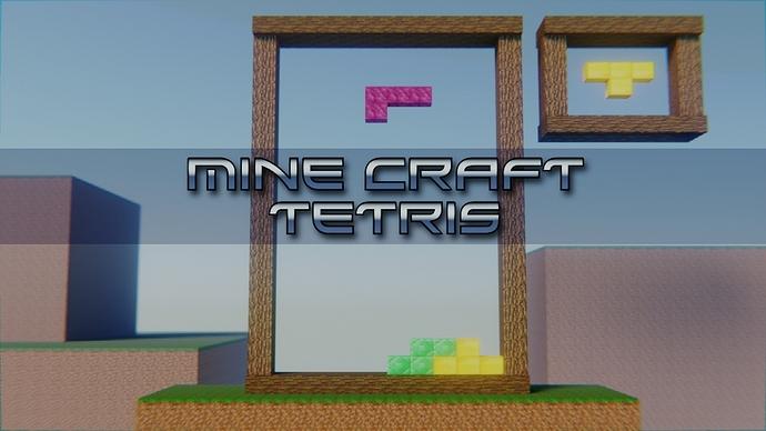 Tetris in Minecraft 1