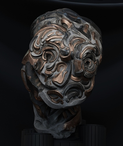Sculpture-Metalllic