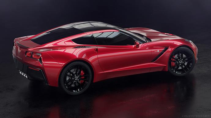 corvette_side_red