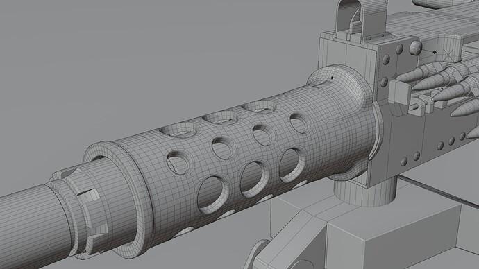 barrel support - wire hi