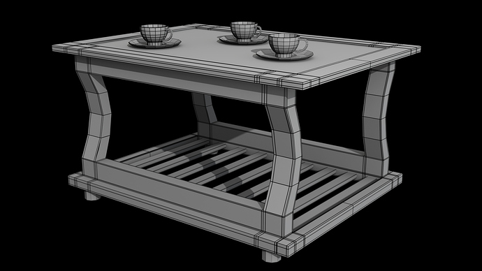 Wooden_Tea_Table_3d_Model_Wireframe_Preview_02