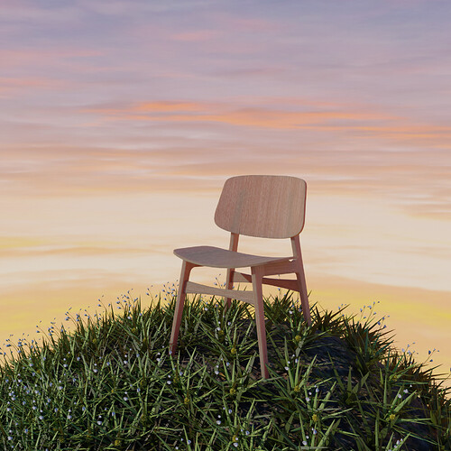 chair nature scene