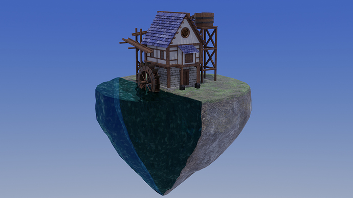 Floating Water Mill1