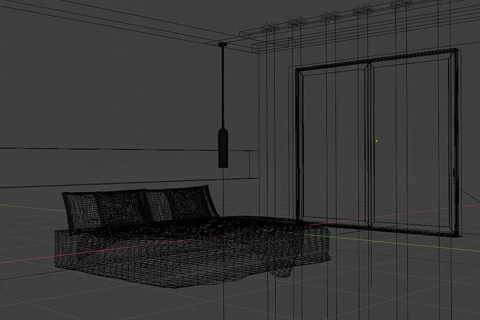 bedroom_wireframe