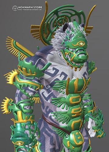 06-upuaut-wolf-demigod-hokmaphstore-apotheosis-cerberus-armor