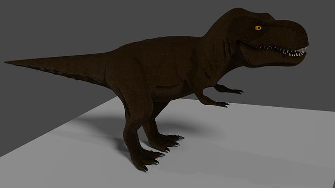 T-rex display blender