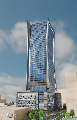 Alternate Office Tower @ West Peachtree & 12th Street