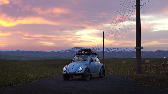 Roadside Beetle #2