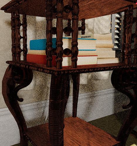 mahogony table