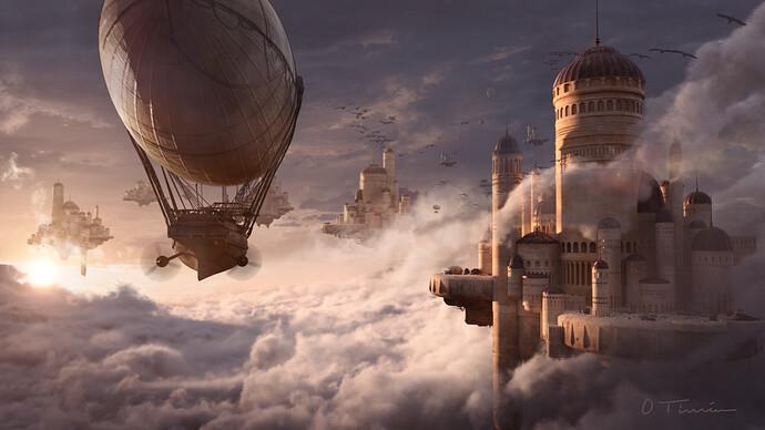 Castle in the Sky - O. Timéro