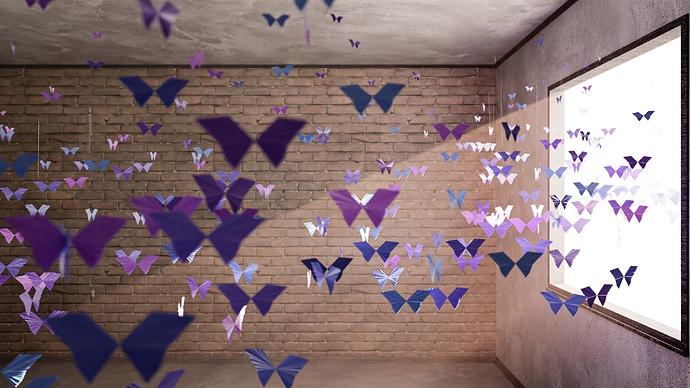 MatLZA: Paper Butterflies