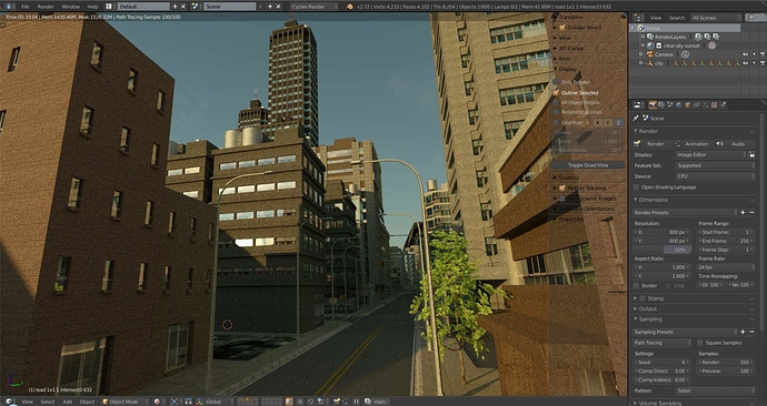 SceneCity ⛫ - Released Scripts and Themes - Blender Artists Community