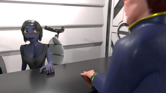 Receptionist 01