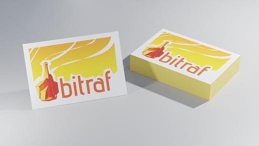 bitraf business cards