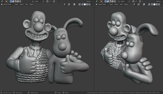 Wallace And Gromit Viewport