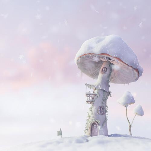 amanita_snow