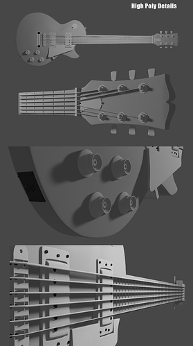 3D-Guitar-HighPolyDetails