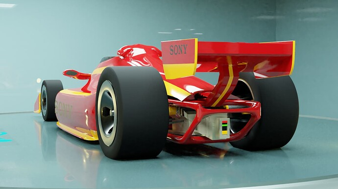 Indy Racer rear side