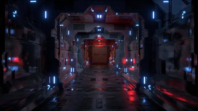 Sci-Fi Corridor 1