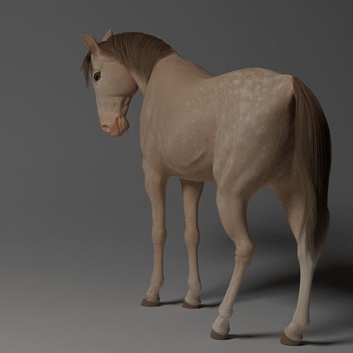 cream-horse-render-principled-node-1