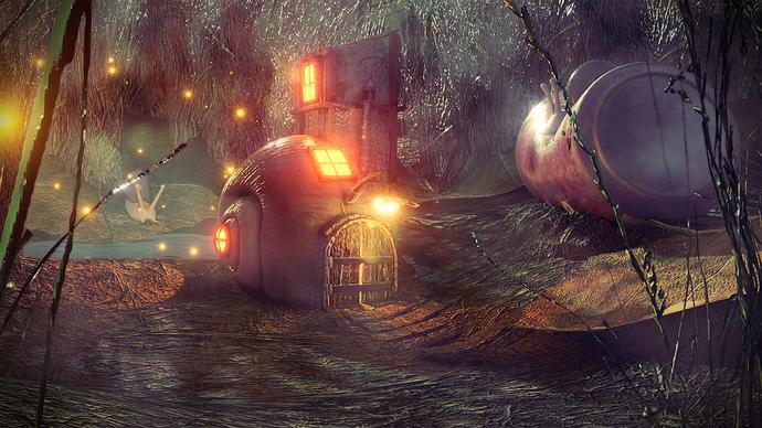 wesley_vanroose: A Snail Home