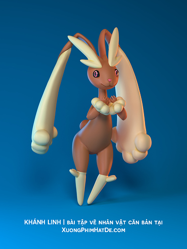 KhanhLinh_Pokemon_Lopunny