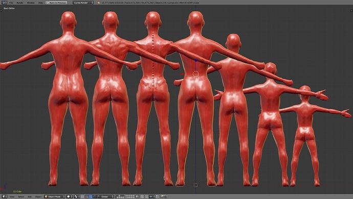 Female Body Works In Progress Blender Artists Community Assoass 1