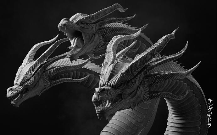 aneesh-arts-ghidorah-render-white-blck-00000