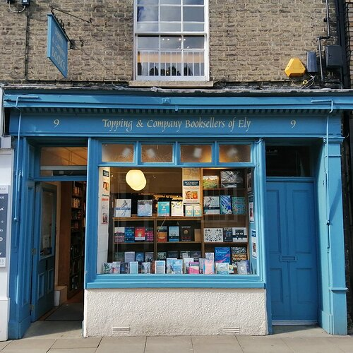 real bookshop in Ely (UK)