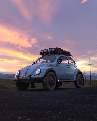 Roadside Beetle #3