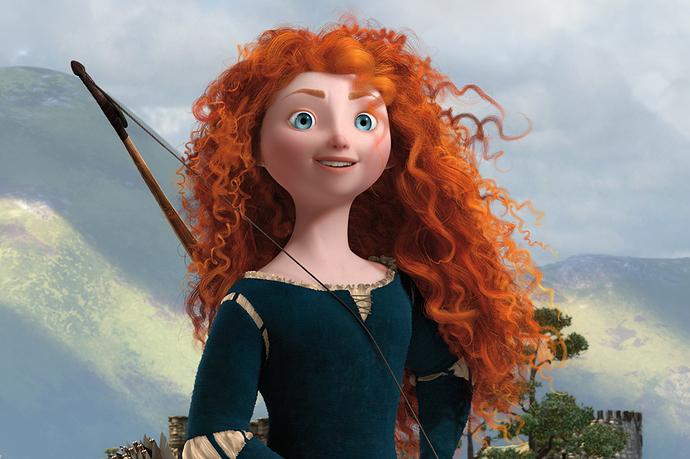 Merida's hair
