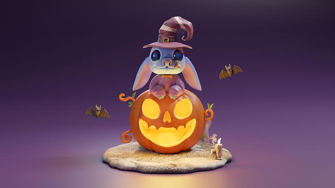 stich halloween