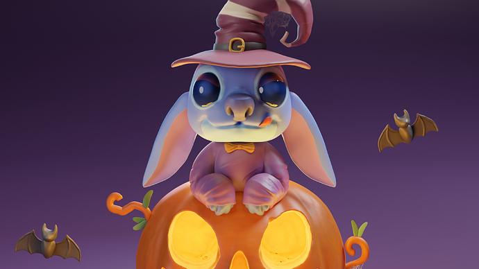 stich halloween 2