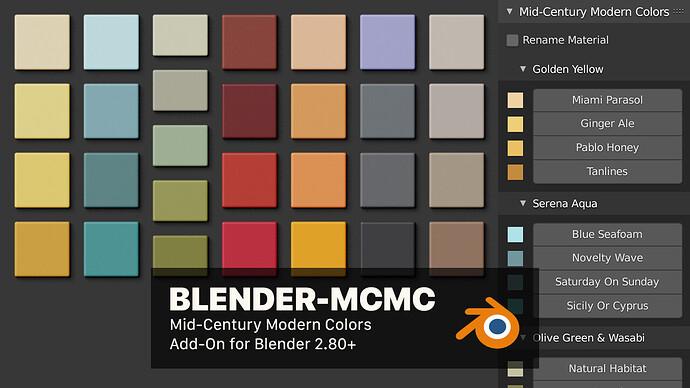 blender-mcmc