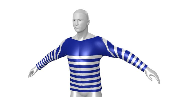 TeeShirtStriped_BlueWhite