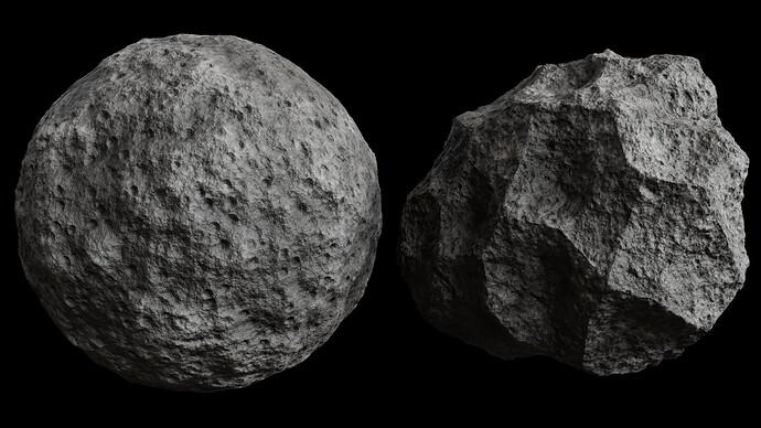 Procedural Asteroid 1
