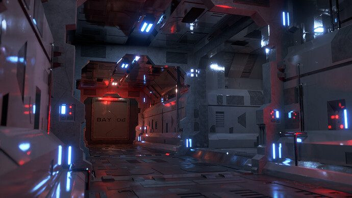 Sci-Fi Corridor 3