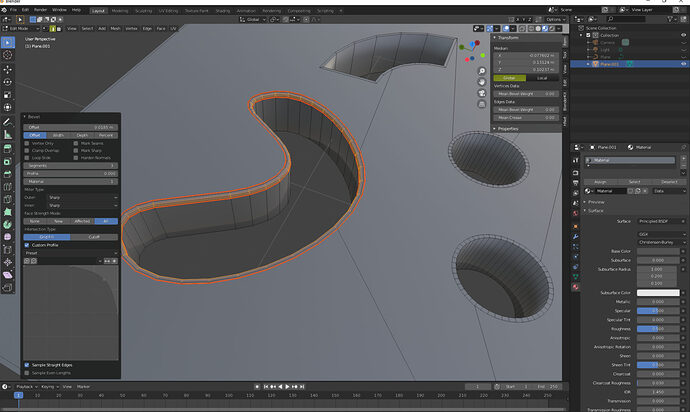 Blender edge bevel_mark seam