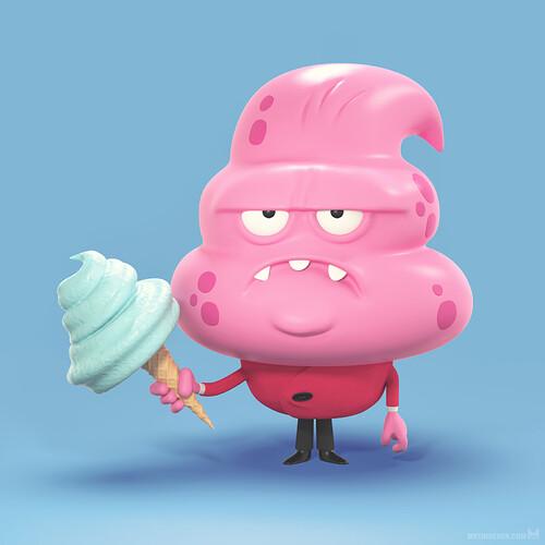 metin-seven_3d-print-modeler-toy-character-designer_cartoon-funny-ice-cream-monster