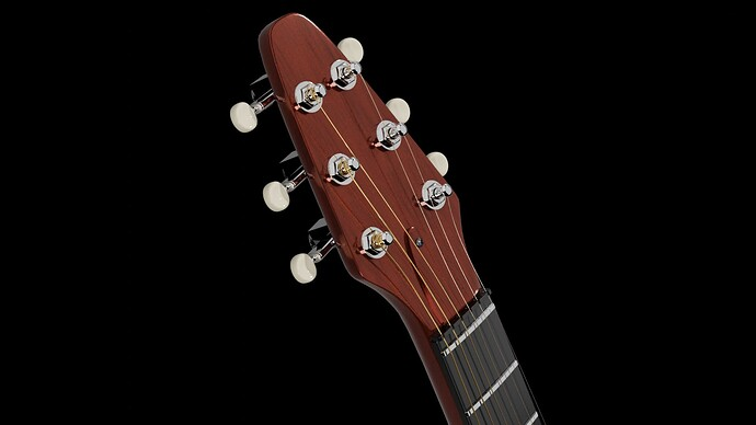 Red Special neck display