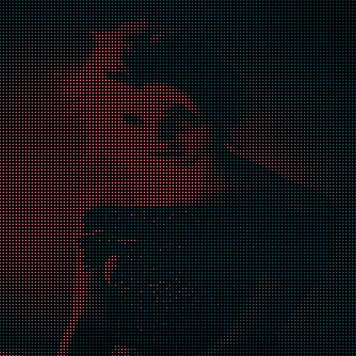 pixelated girl