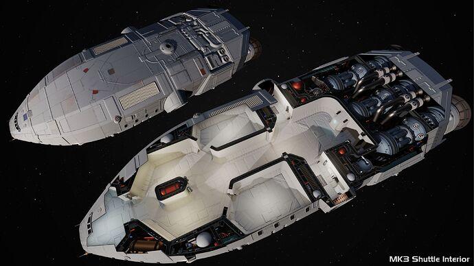 MK3 Transport Interior Render