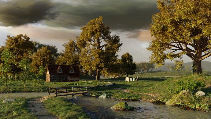 farm house scene 4 no mist