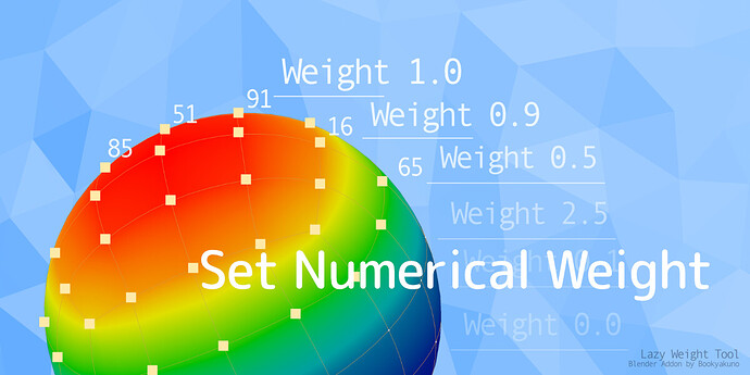 Lazy Weight Tool_ver1-9-2_02_Set Numerical
