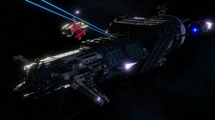 Big Ship Builder - Freighter vs Wing-X v2