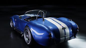 Shelby Cobra 427 Rear Angle fhd