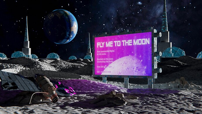 Wilku84: Fly Me To The Moon