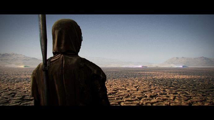 Desert Race finalframed