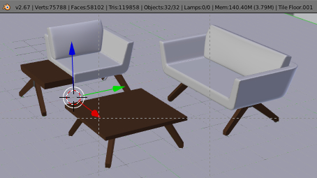 Swell Help Cuda Out Of Ram With This Scene Already For Cycles Evergreenethics Interior Chair Design Evergreenethicsorg