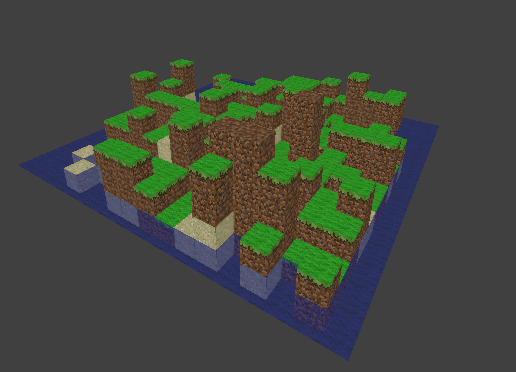 Minecraft inspired world generator  - Works in Progress and